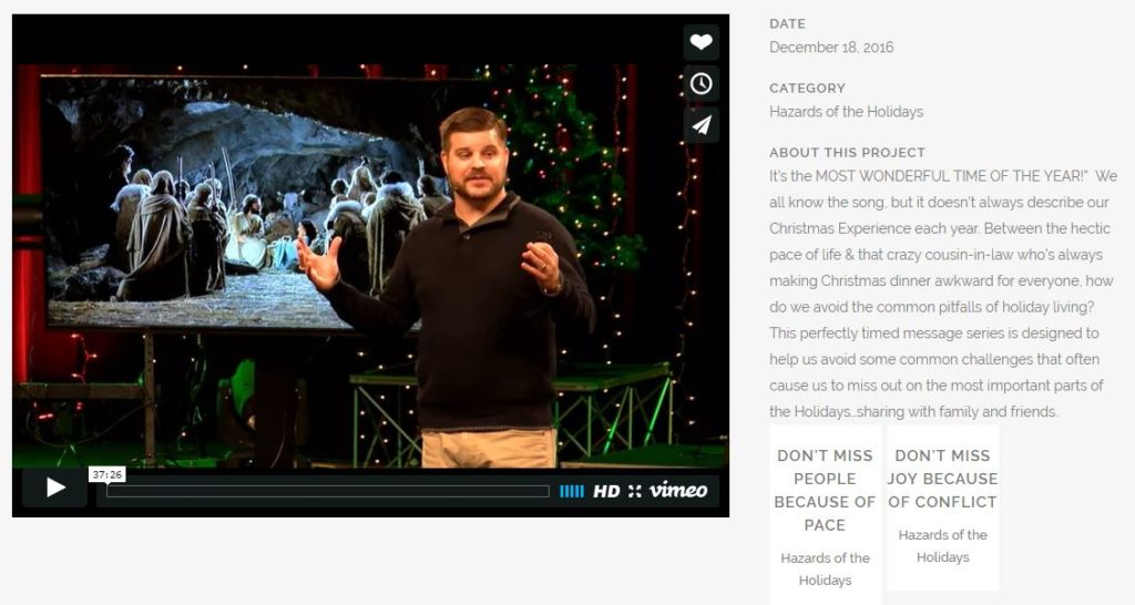 Chris Williams shares a Christmas Message.